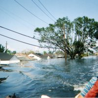 Photographs taken by the Delmarva Red Cross Chapter in the aftermath of Hurricane Katrina